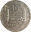 10 Francs Turin (1929-1939) avers