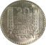 20 Francs Turin (1929-1939) avers